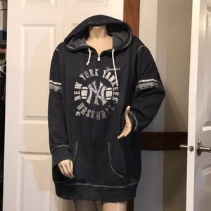 MLB zip up hoodie, New York Yankees 4x